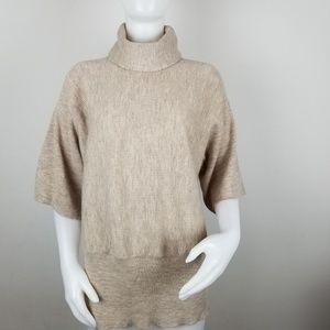 Cynthia Rowley XL Merino Wool Turtleneck Sweater